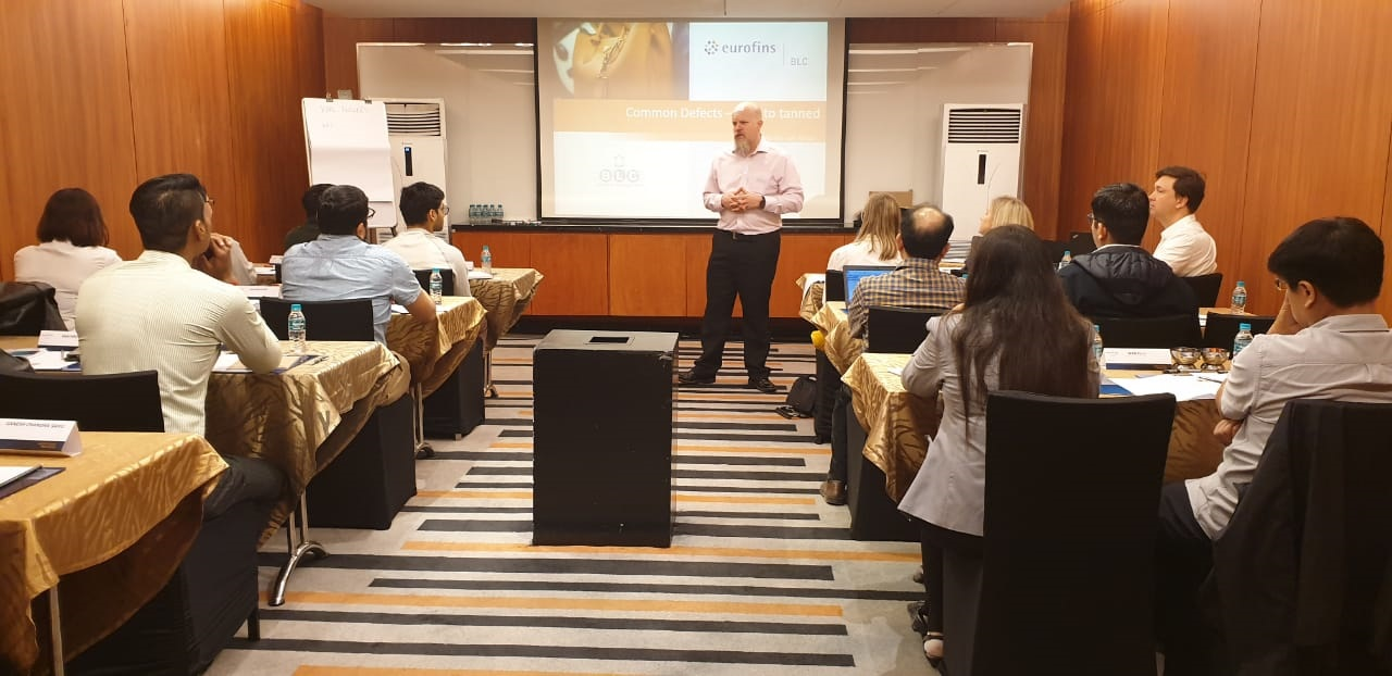 Karl Flowers Presenting for Eurofins | BLC in India