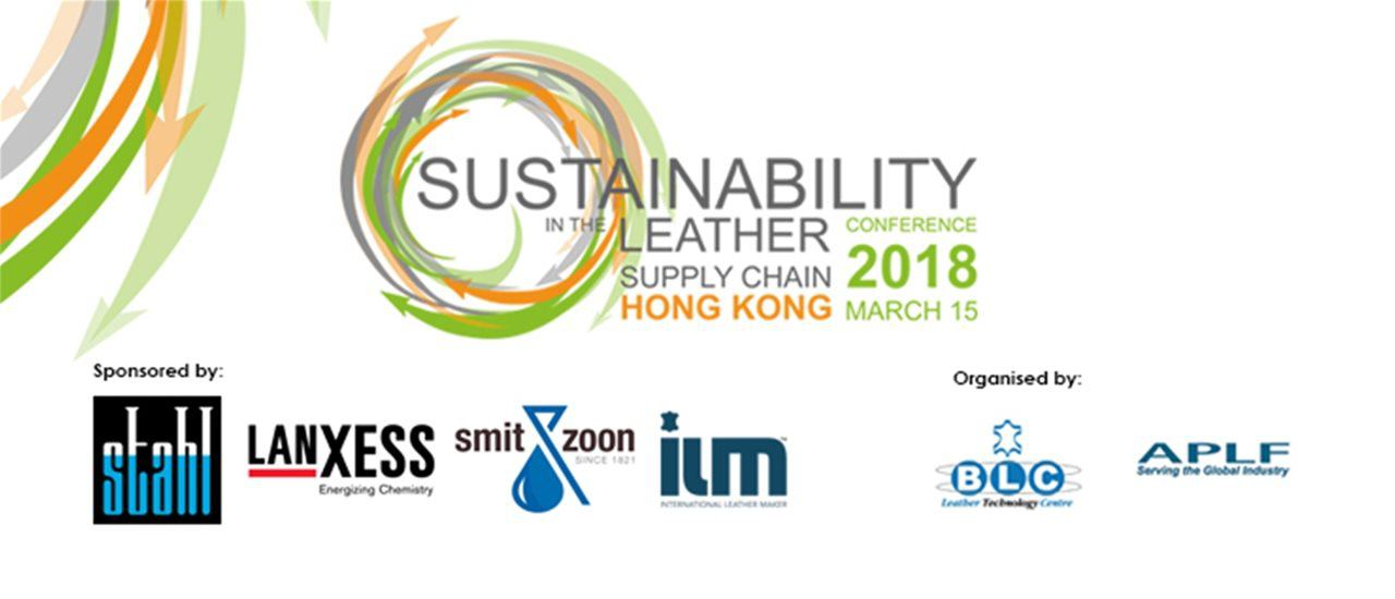 Smit & zoon to Sponsor Discussion Panel and ILM Announced as Media Sponsor at Sustainability in the Leather Supply Chain Conference Hong Kong 2018